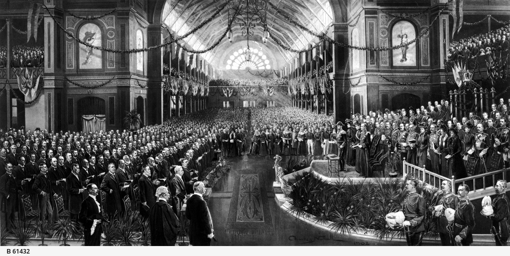Opening of the first Commonwealth Parliament of Australia